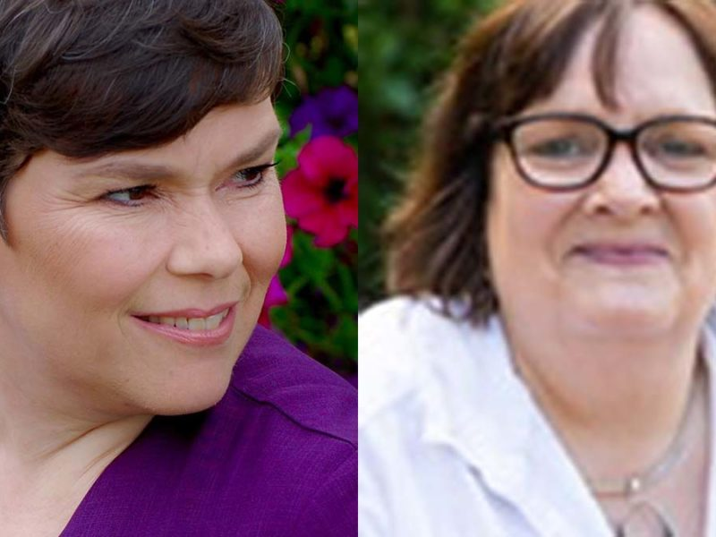 Rachel Brown and Ruth Redgate