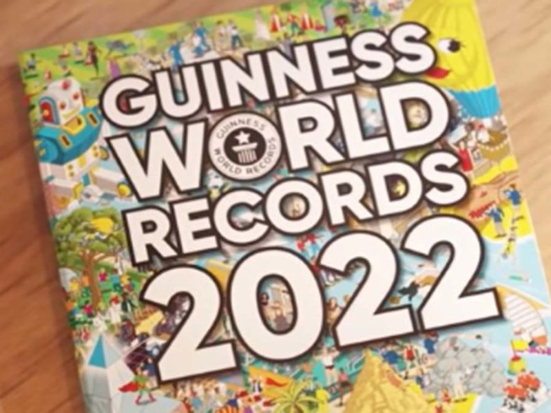 Guinness World Records 2022 book