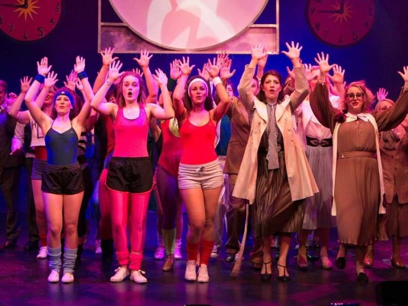 A previous Brownhills Musical Theatre Company production