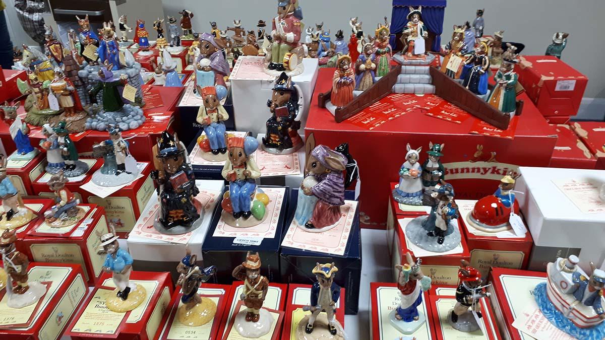 Bunnykins ceramics going up for sale in Lichfield