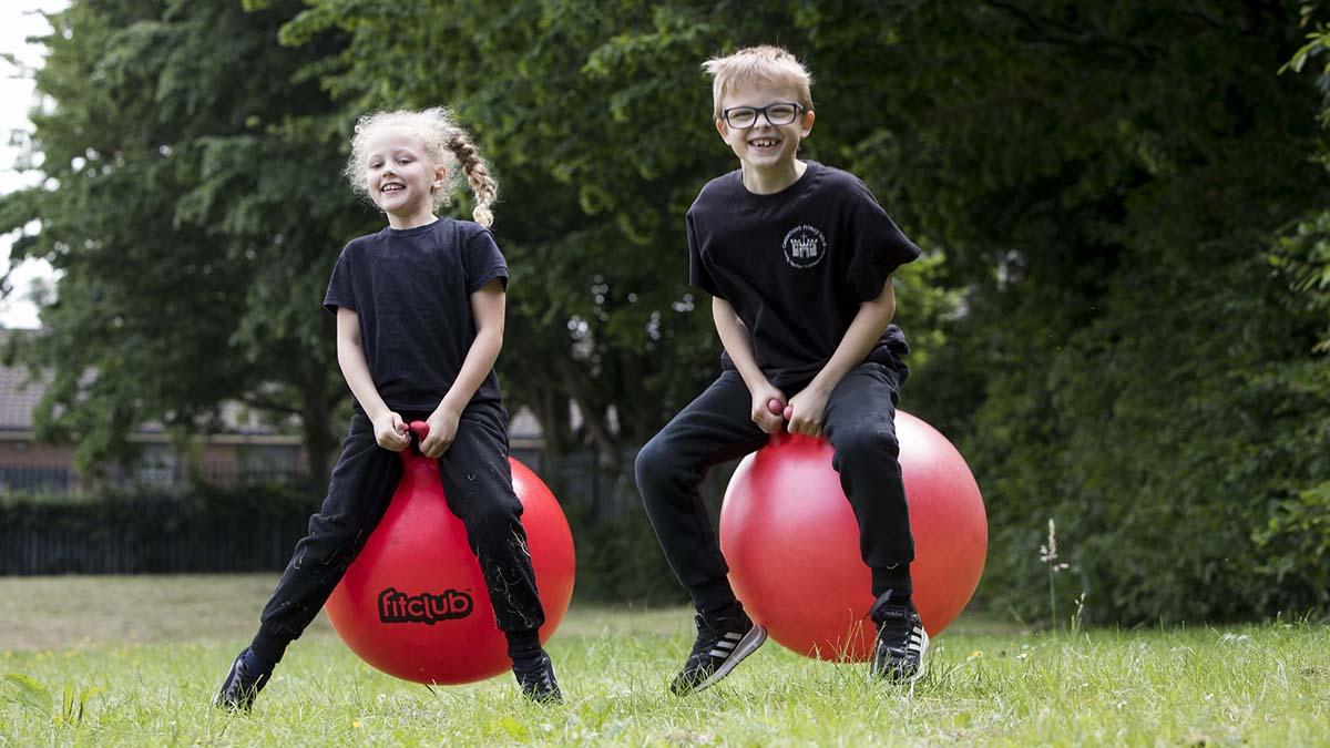 Children taking part in the HAF programme