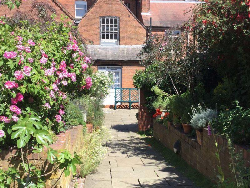 The Erasmus Darwin House herb garden