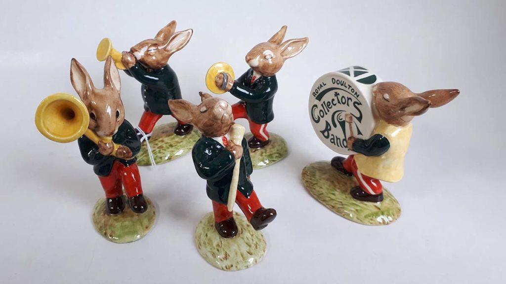 A rabbit oompah band