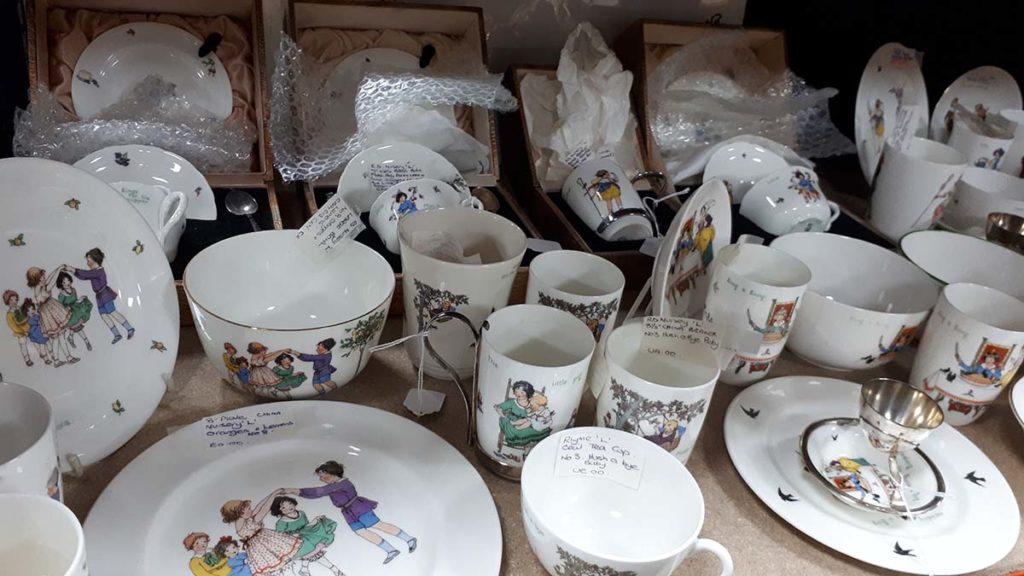 Some of the Royal Doulton nurseryware