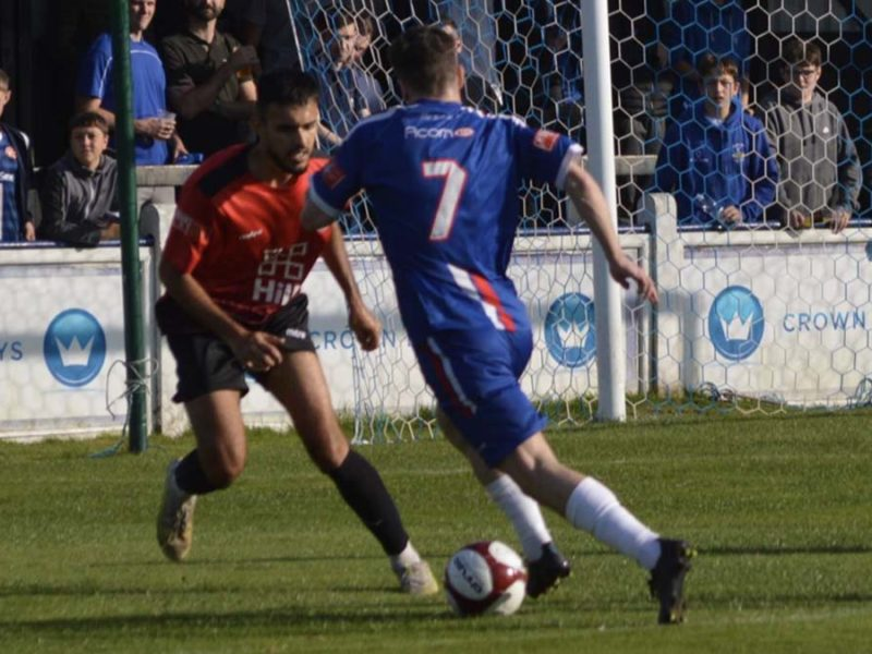 Action from Chasetown v Histon. Picture: Louise Yates