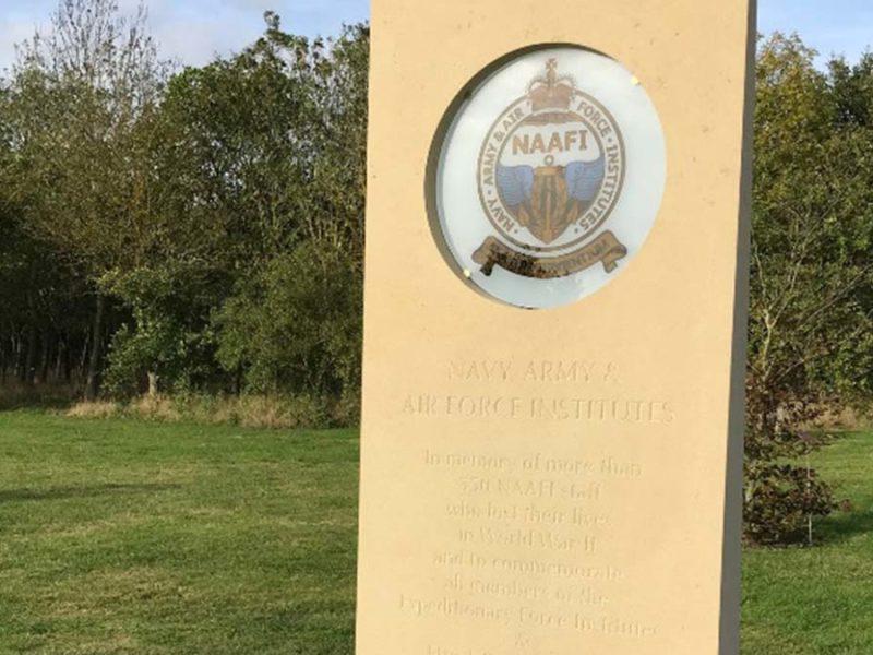 The NAAFI Memorial