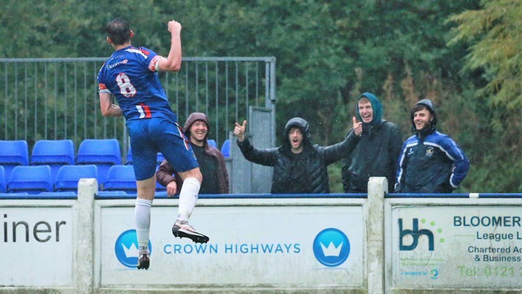 Jack Langston celebrates. Picture: Dave Birt